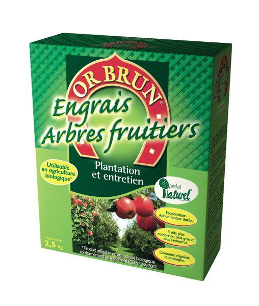 Engrais granul�s arbres fruitiers OR BRUN